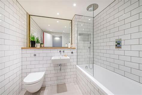 Mirrored-subway-tiles-bathroom-traditional-with-bathroom