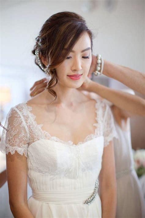 beautiful simple wedding updo ideas  pinterest