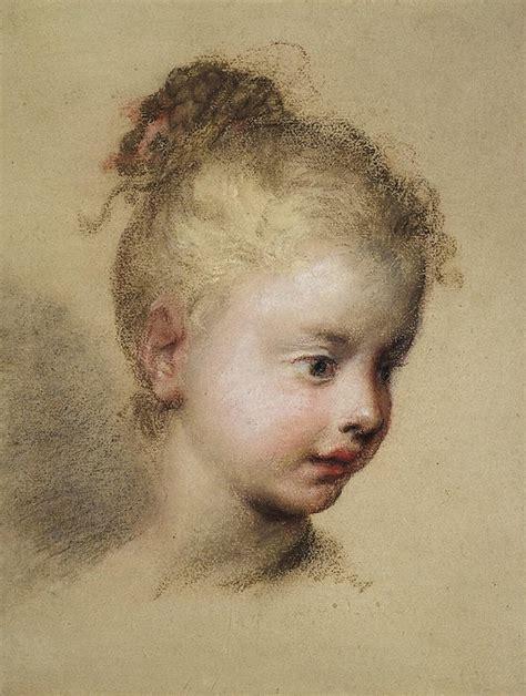 head   child  profile rosalba carriera hermitage