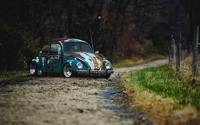 Vw Beetle Rat Rod Volkswagen Wallpapers Dog