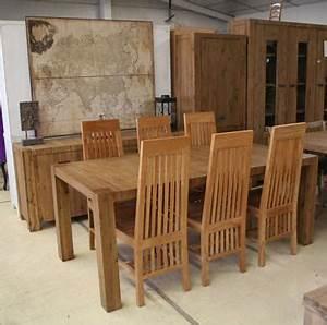 chaises de salle a manger en teck With meuble salle À manger avec salle a manger en teck
