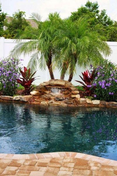 pool landscaping ideas  pinterest