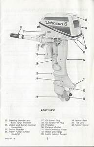 Johnson Outboard Owners Operators Manual 6hp