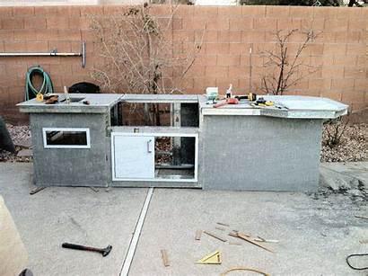 Diy Island Bbq Grill Built Outdoor Kitchen
