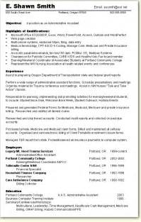 format for skills based resume skill based resume sle administrative assistant resumes