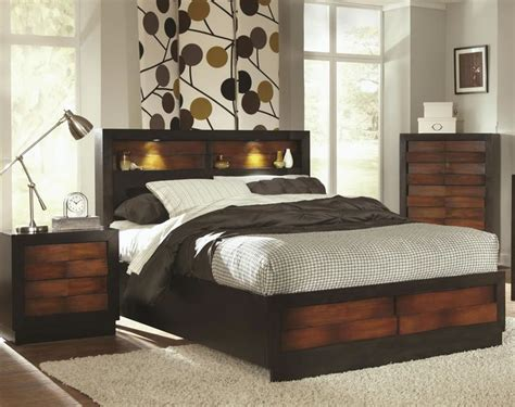 King Size Headboard With Lights by Bookcase Headboard With Lights Woodworking