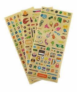 goodbyn chris piascik dishwasher safe sticker set With dishwasher safe letter stickers