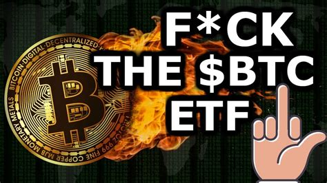 The securities and exchange commission hasn't. Bitcoin ETF 🖕🖕 THEFT From 401ks 😱 The Largest P&D In History $BTC News   Crypto Currency News