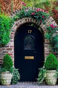 Let, Spring, Decorate, Your, Front, Door, In, Green
