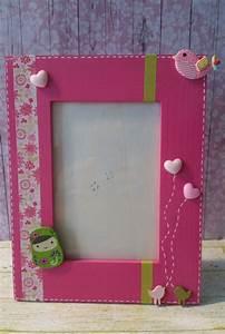 Cadre Chambre Fille : cadre photo d coratif a poser pour chambre de fille ~ Nature-et-papiers.com Idées de Décoration