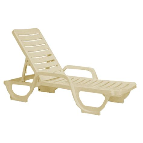 chaise lounge plastic resin bahia