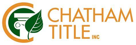 Settlement Directory - Chatham Title, Inc.
