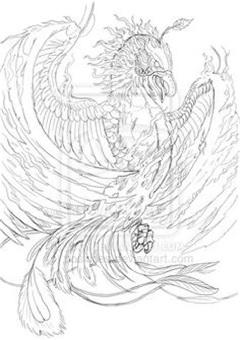 chinese phoenix line drawing - Google Search | TATTOOS | Pinterest | Tattoos, Drawings and Art