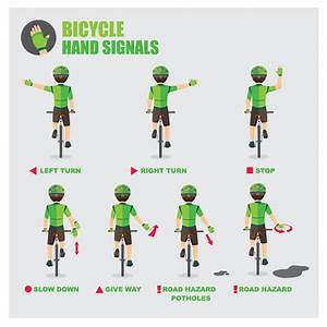 Bicycle Hand Signals