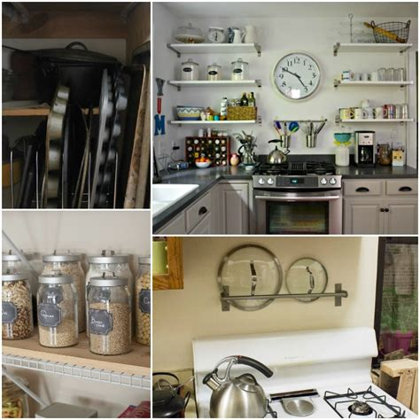 organization ideas for small kitchens 15 easy kitchen organization ideas 7214