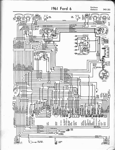 1966 Ford F100 Horn Diagram by 1961 Ford Skyliner Horn Electrical Problem 1961 Ford