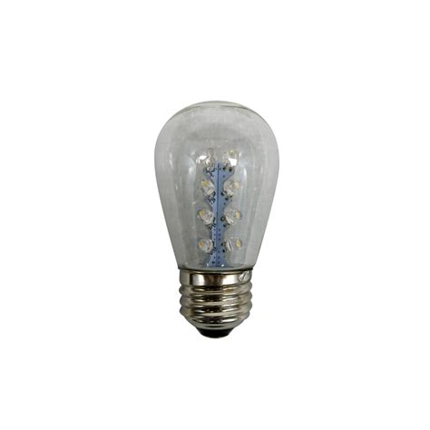 s14 led replacement bulbs warm white 25 pack