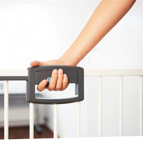 barriere de securite easy lock metal blanc sans percer