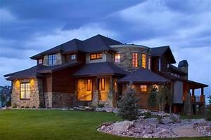 Houses Landscape Mansion Fir Grass Design Desktop ...