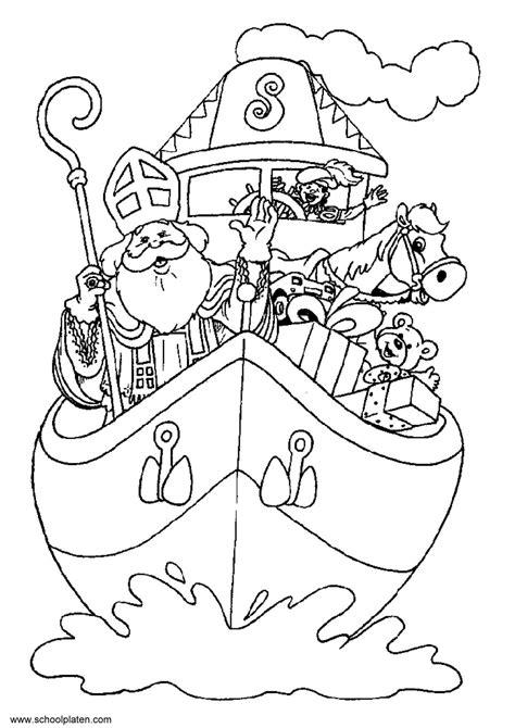 Kleurplaat Silvie En by Plus Pad Sinterklaas Thema Sinterklaas Sinterklaas