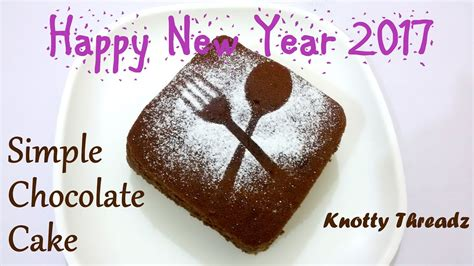 year special   bake  simple chocolate cake