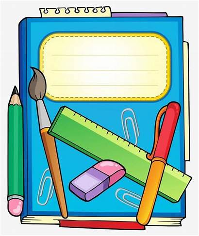 Stationery Clipart Books Illustrations Clip Pngtree Clipground