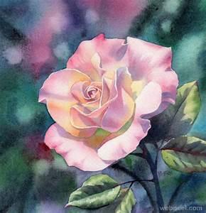 watercolor painting flower by barbara 9