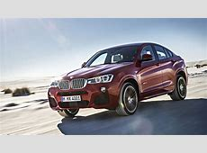 2015 BMW X4 with M Sport package Driving Xdrive35i