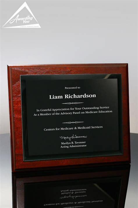 memorial recognition awards ideas  wording