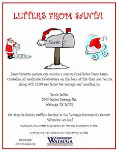 watauga tx official website With official letters from santa cost