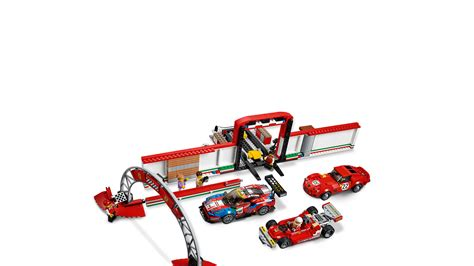 This ferrari model car kit features 7 minifigures, including 3 race car drivers with helmets. 75889 LEGO Speed Champions Ferrari Ultimate Car Garage Set 841 Pieces Age 8+ | eBay