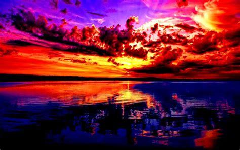 hd sunset wallpaper