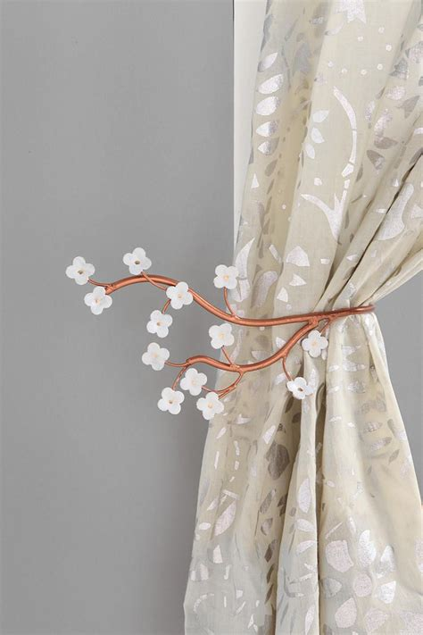 pretty cherry blossom curtain tie back 14 00 from