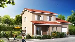 plan maison plain pied rhone With plan maison avec tour 1 maison contemporaine rhane alpes photos maison