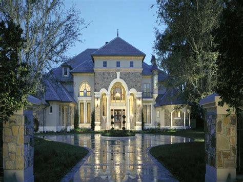 Chateau Style Homes by Chateau Style Home Style Luxury Home Plans