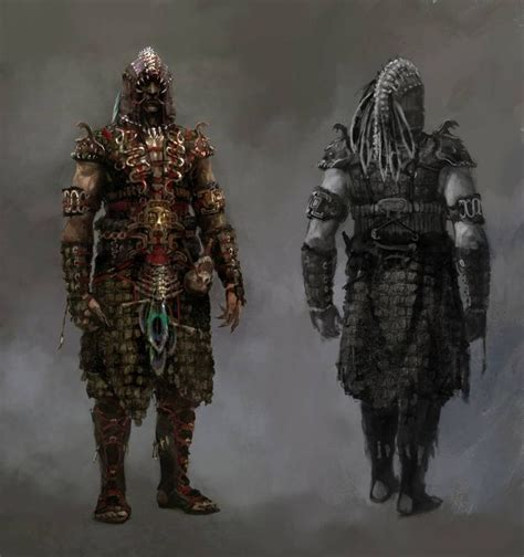 armor si鑒e social necromancer pvp armour concept from the age