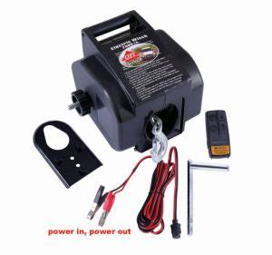 Electric Boat Winch Wireless Remote by China 2000lb Boat Winch With Wireless Remote P2000