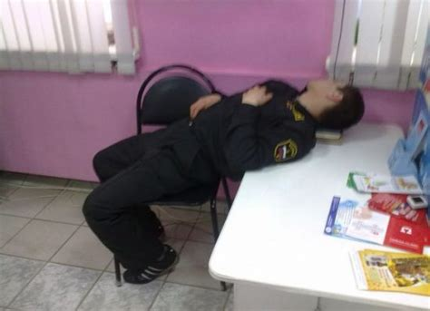 hilarious  weird places people fall asleep