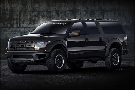 Hennessey Working On A 622 Hp Velociraptor Armored Suv