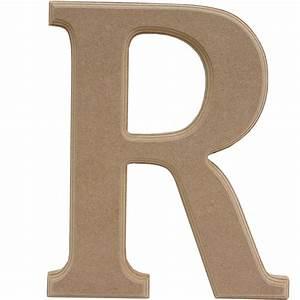 Wooden Letter R 27 Cm Hobbycraft