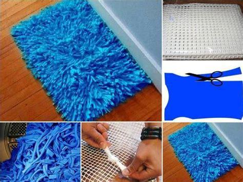 recyclez de vieilles serviettes pour faire un tapis de bain echantillons gratuits