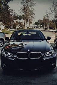 Black Beamer Car