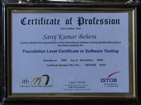 mindfire professionals win istqb certification mindfire