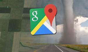 Google Earth  Maps Captures Shocking Evidence Of Tornado