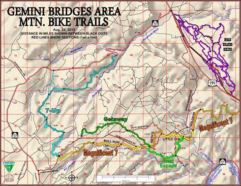 moab utah  road trail maps map resume examples dplwgrd