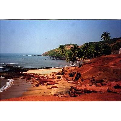 Anjuna Beach Goa India Location Map