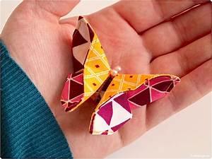 Basteln Mit Stoffresten : n hblog modage origami schmetterling aus stoffresten n hen ~ Lizthompson.info Haus und Dekorationen