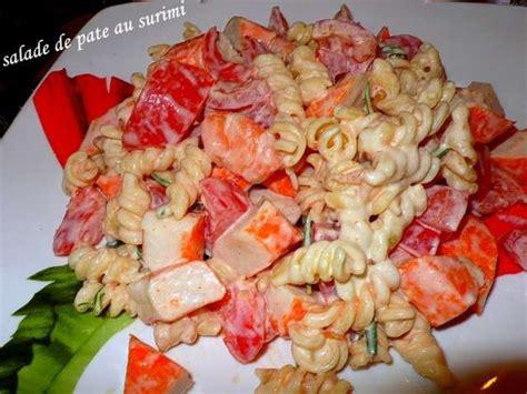 pates au surimi froid 28 images recette salade de p 226 tes au surimi rapide facile salade