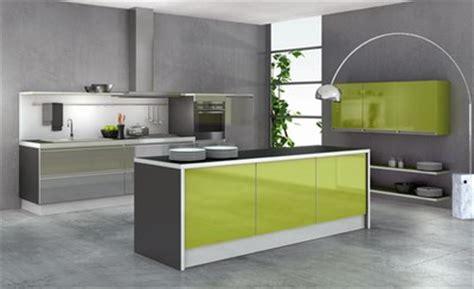 meuble cuisine vert meuble de cuisine vert et gris mobilier design