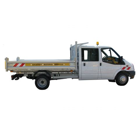 location camion benne double cabine diesel